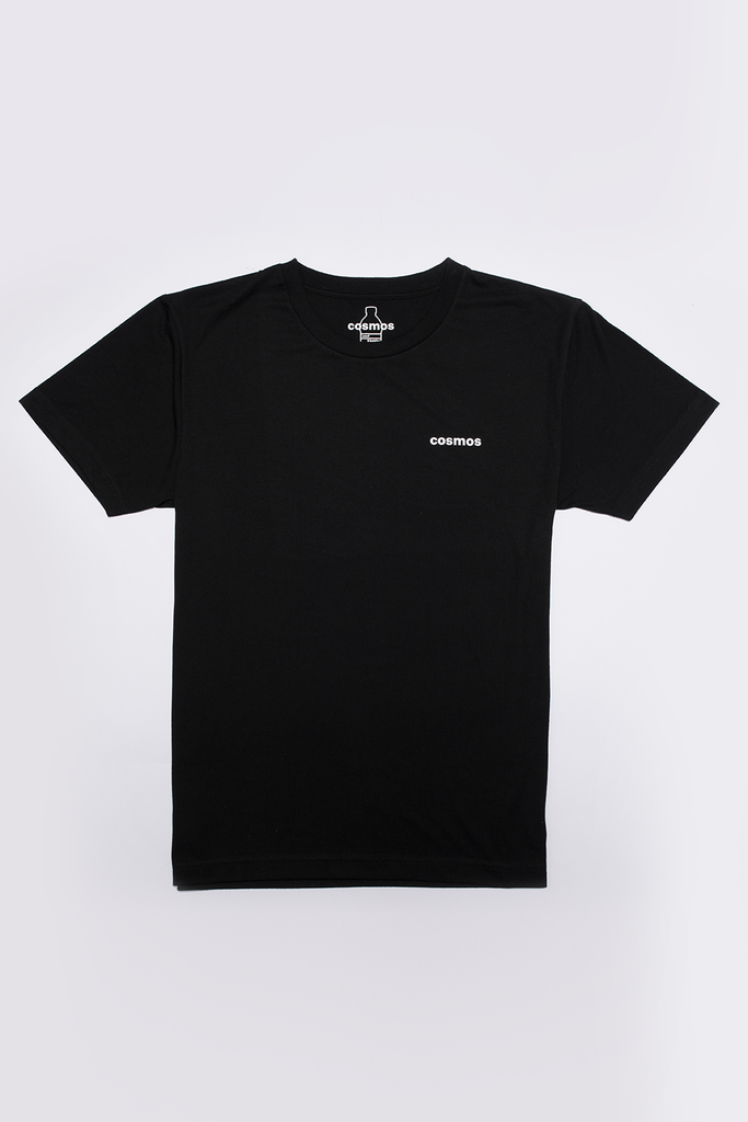 Bottle Tee Ethical Recycled T-shirt in Black