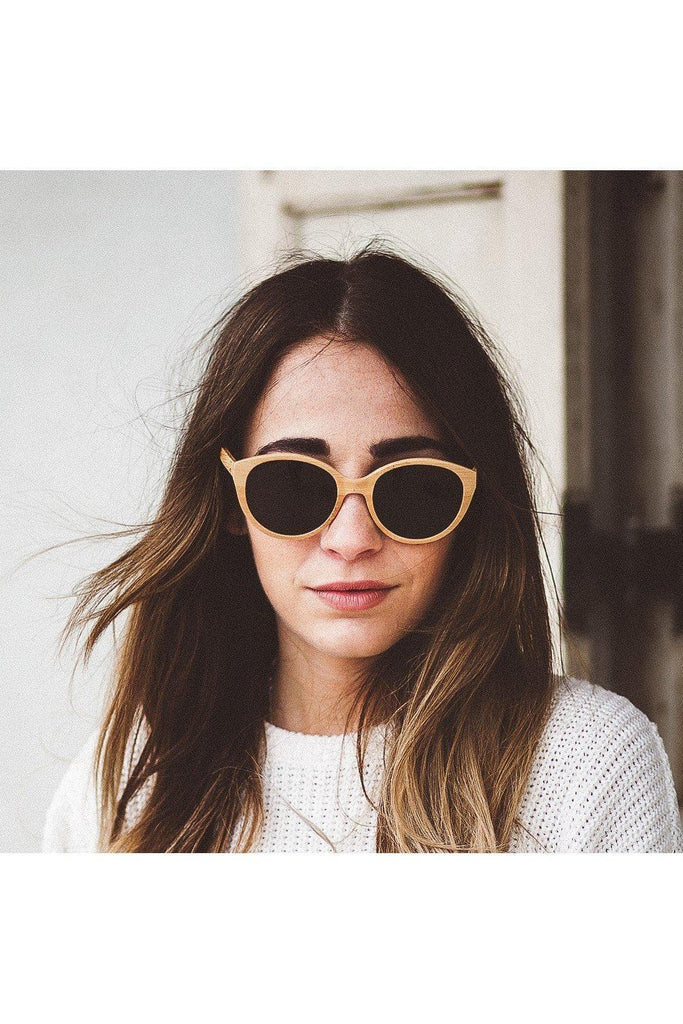 Joyce Ultralight Ethical Bamboo Sunglasses