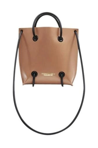 The Sample Utility Ethical Leather Handbag in Nude