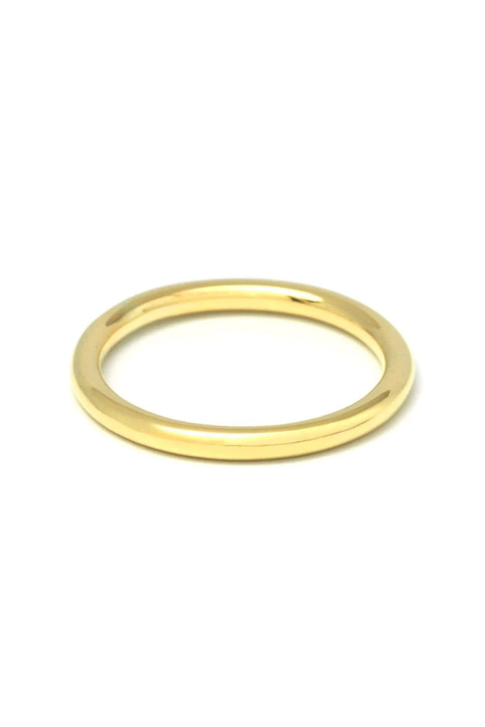 Handmade Classic Ring Fine in Brass or Sterling Silver