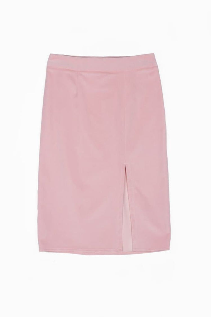 Castor Organic Cotton Skirt in Pink