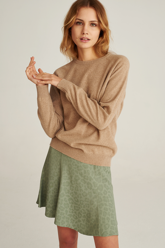 05/12 Recycled Cashmere Sweater in Desert Sand