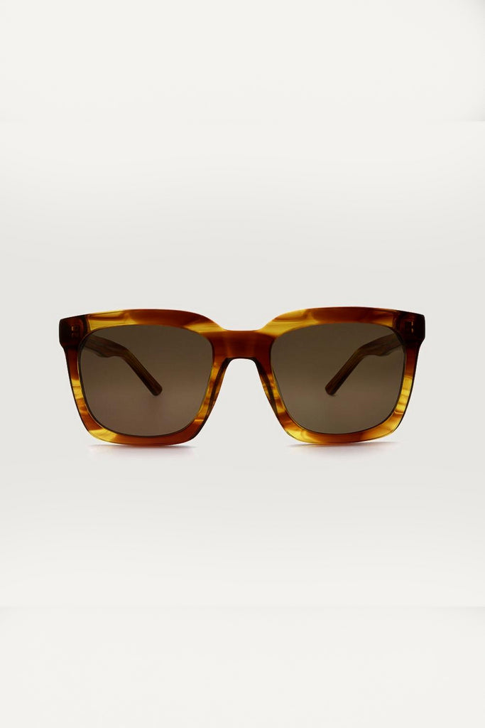 Thabo Ethical & Eco-Friendly Acetate Sunglasses in Brown
