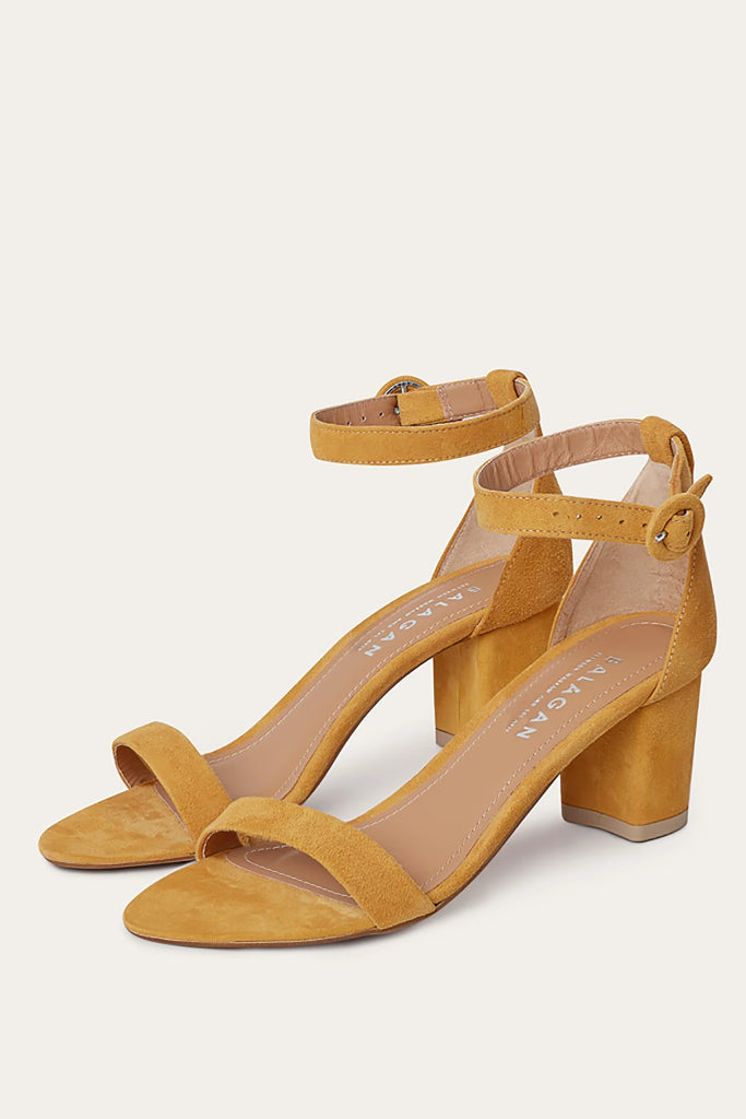 Ulam Natural Leather Sandals in Pineapple