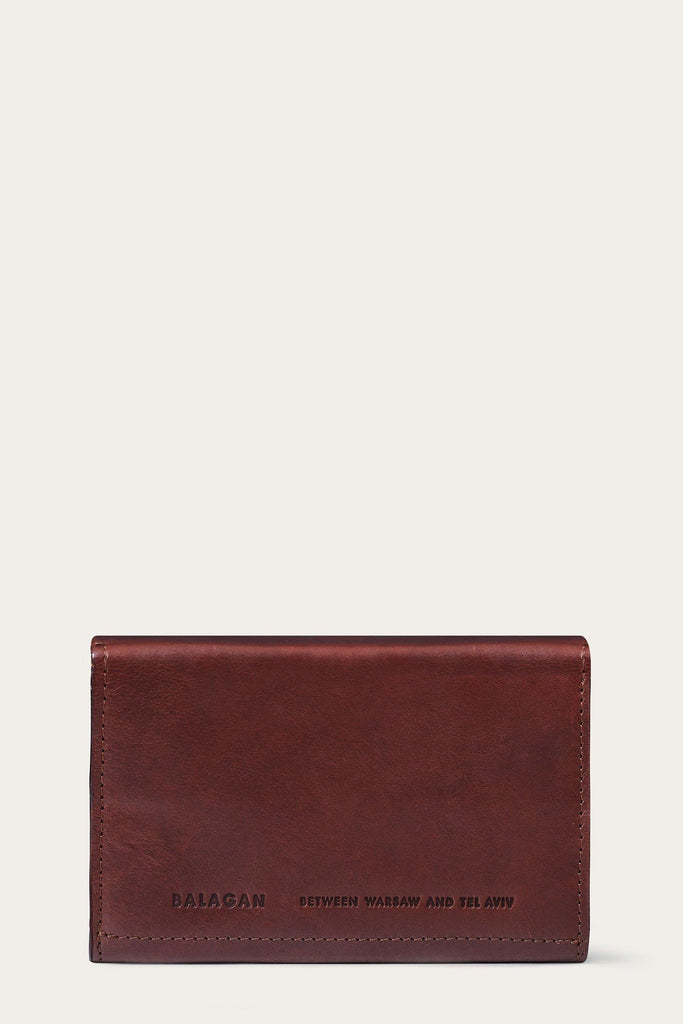 Hon Natural Vegetable Leather Wallet in Brown