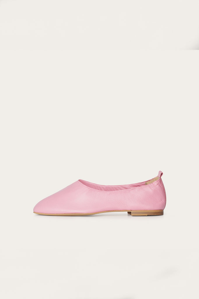 Kemet Natural Leather Shoes in Candy