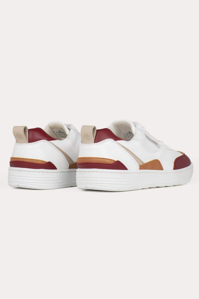 UX-68 Handmade Vegan Sneakers in Wine