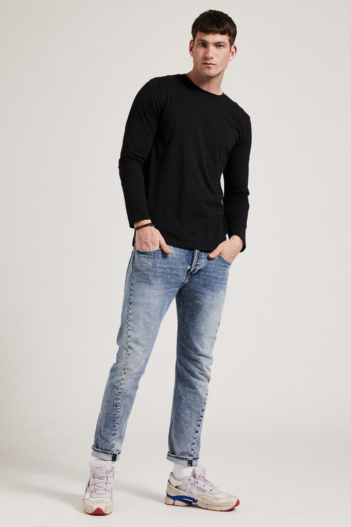 Organic Cotton Longsleeve for Men in Different Colors