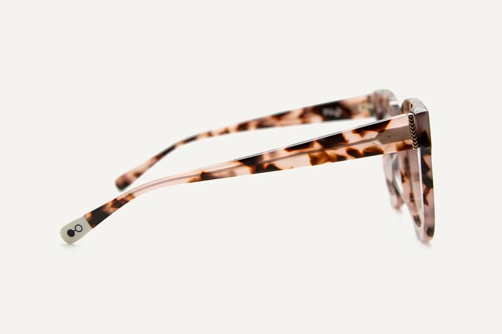 Zuri Ethical & Eco-Friendly Acetate Sunglasses in Pink