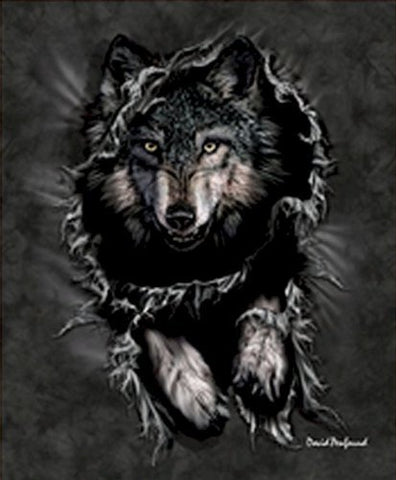 Signature Collection Wolf Queen Blanket