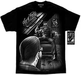 Fresh Cut Ace of Fades Barber Shop Day off the Dead Skull David Gonzales DGA T Shirt