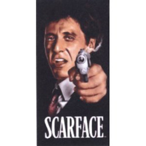 Scarface Al Pacino Tony Montana Respect Beach Towel