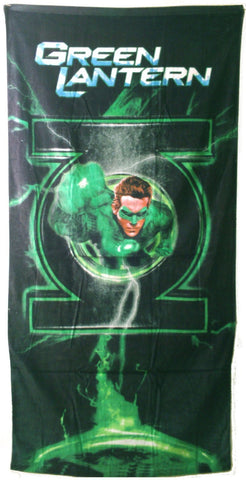 DC Comics Green Lantern Beach Towel ~ Can Be Used for Bath