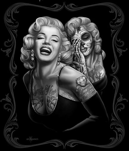 "JP Imports Marilyn Monroe ""Smile Now' 50""X60"" Throw Blanket"