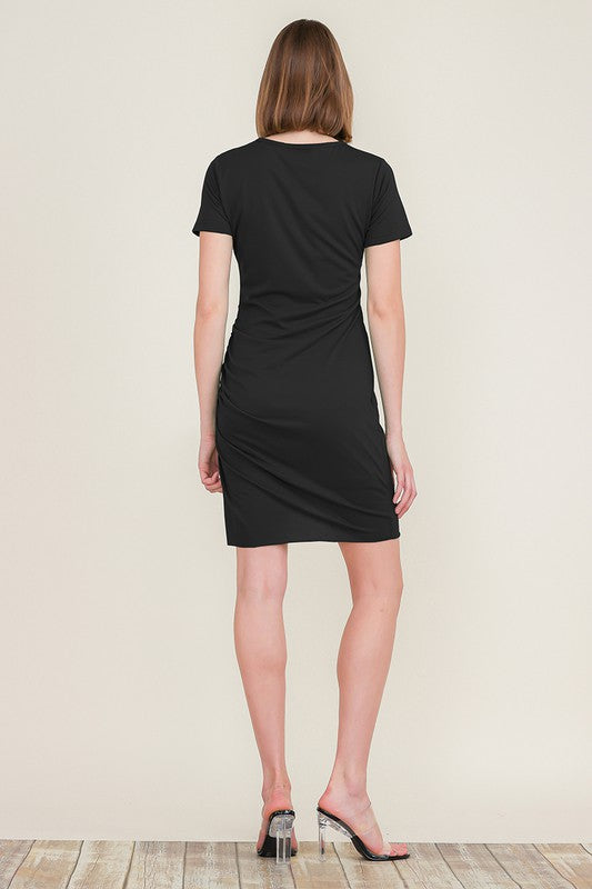 Rileys Ruched Layered Dress