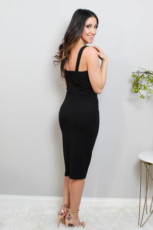 Load image into Gallery viewer, Perfect Black Sleeveless Dress  Glow Fashion Boutique