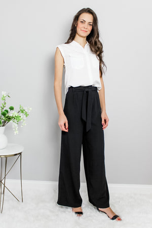 Classic Wide Leg Black Pants Glow Fashion Boutique
