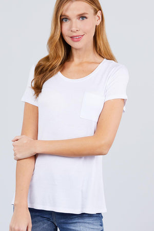 Load image into Gallery viewer, Glow Fashion Boutique Perfect White T-Shirt