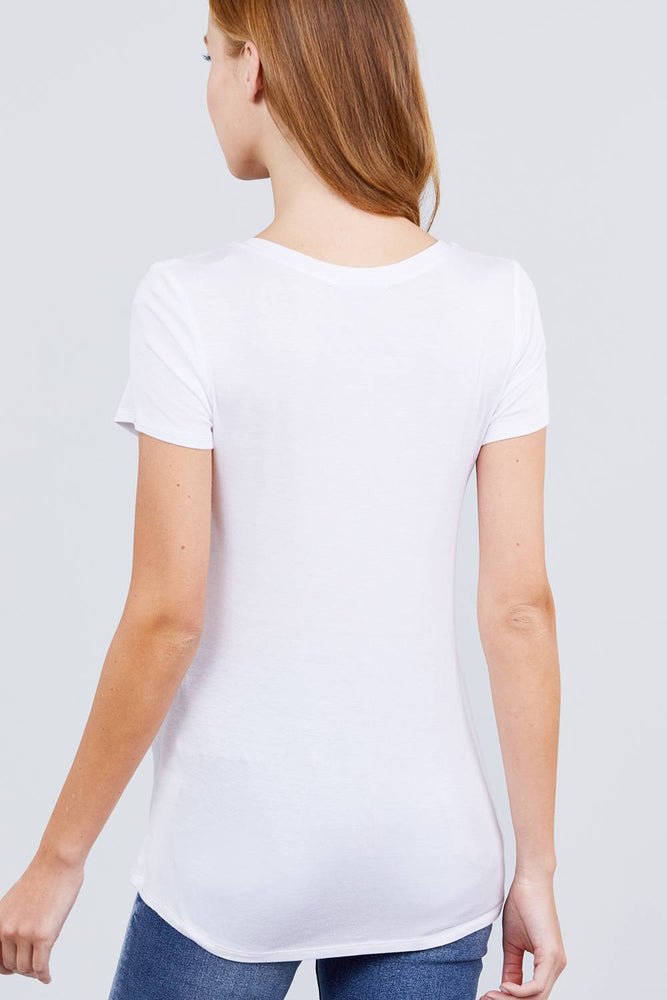 Load image into Gallery viewer, Glow Fashion Boutique White T-Shirt