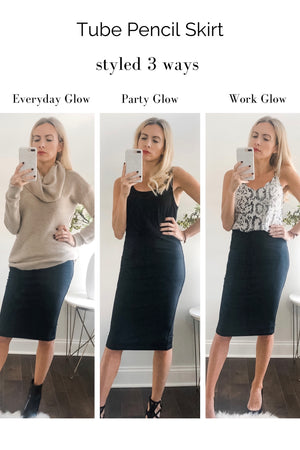 Perfect Pencil Skirt David Lerner Glow Fashion Boutique