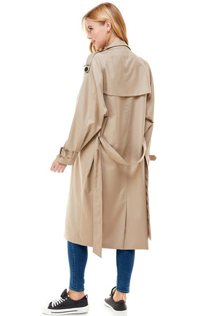 Oversized Classic Trench Coat
