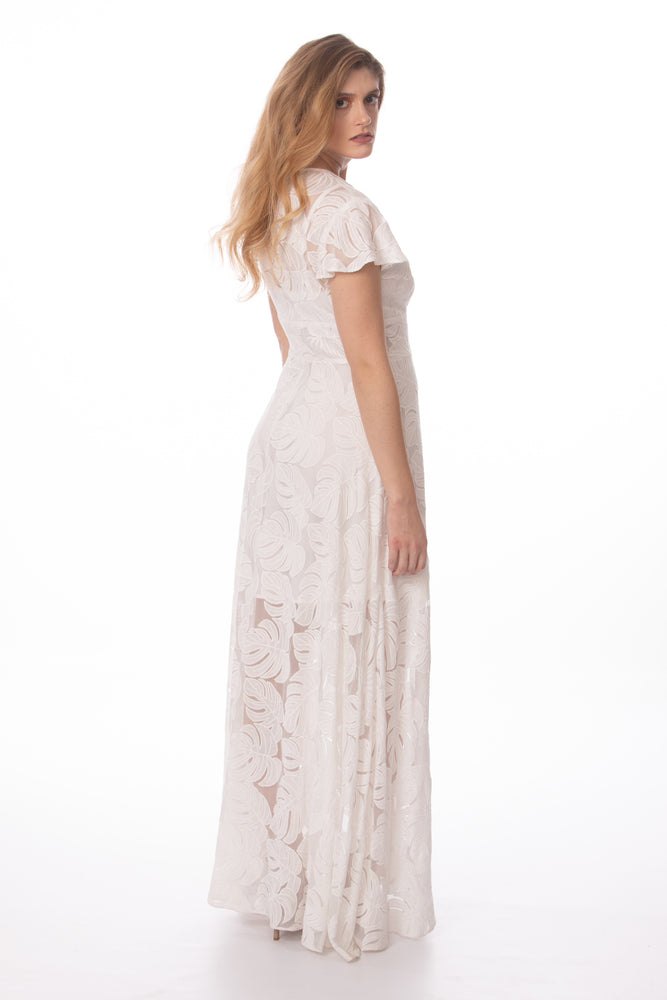Marry Me Again Palm Dress - Glow Fashion Boutique