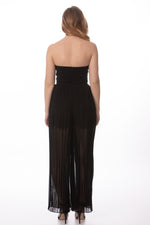 Formal Black Jumpsuit Glow Fashion Boutique