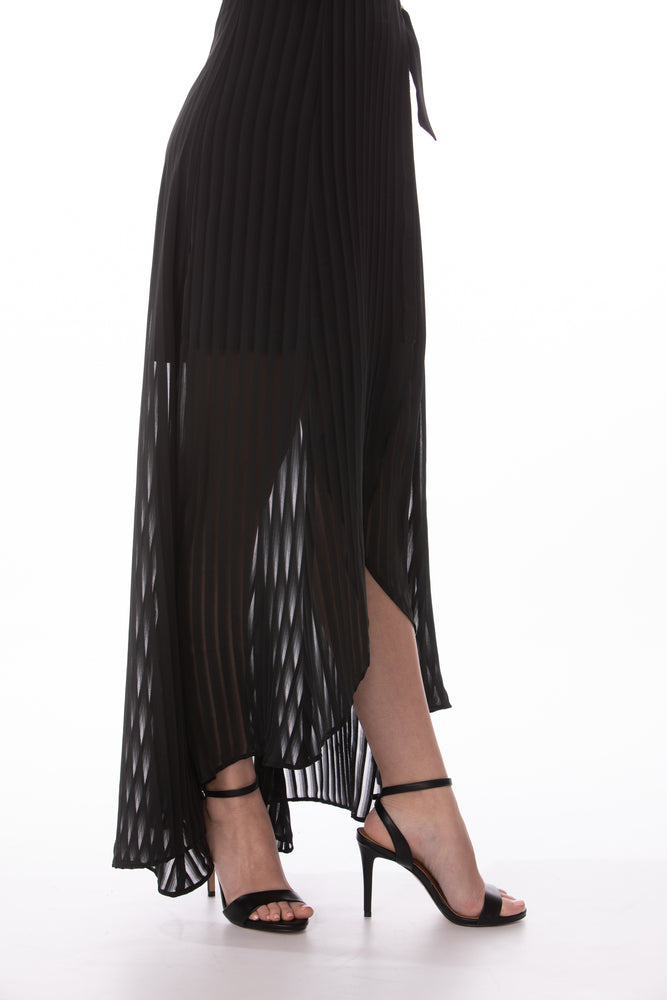 Black Sheer Sleeveless Maxi Dress Glow Fashion Boutique