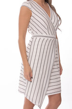 Asymmetrical Wrap Dress Glow Fashion Boutique