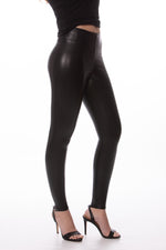 Commando Contol Faux Leather Leggings - Glow Fashion Boutique