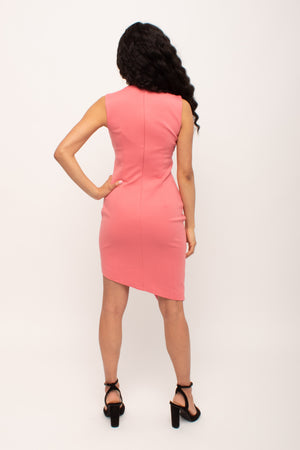 Melon wedding guest dress Glow Fashion Boutique