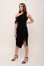 Flattering Black Wedding Guest Dress Glow Fashion Boutique