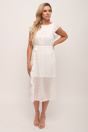 White Engagement Dress Glow Fashion Boutique