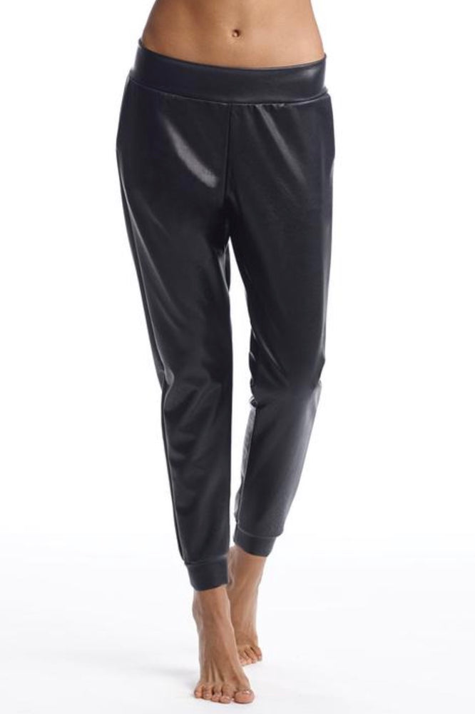 PREORDER Commando Faux Leather Joggers