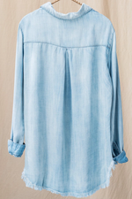 Glow Fashion Boutique Light Chambray Shirt