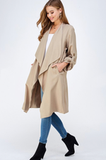 Glow Fashion boutique Trench Coat