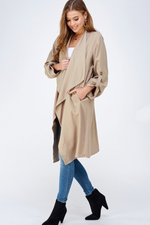 Glow Fashion boutique Classic Trench Coat