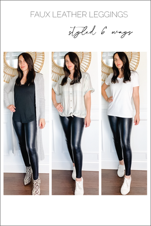 Load image into Gallery viewer, Commando Faux Leather Leggings Glow Fashion Boutique