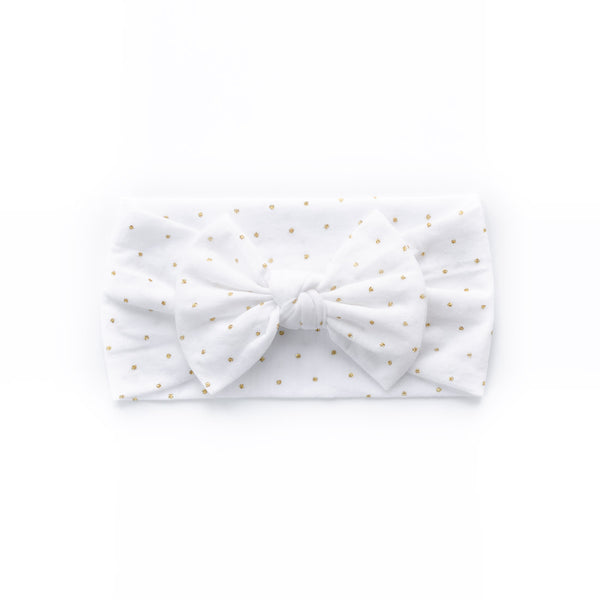 Christmas Bow Headband - Gloria - Baby Girl Nylon