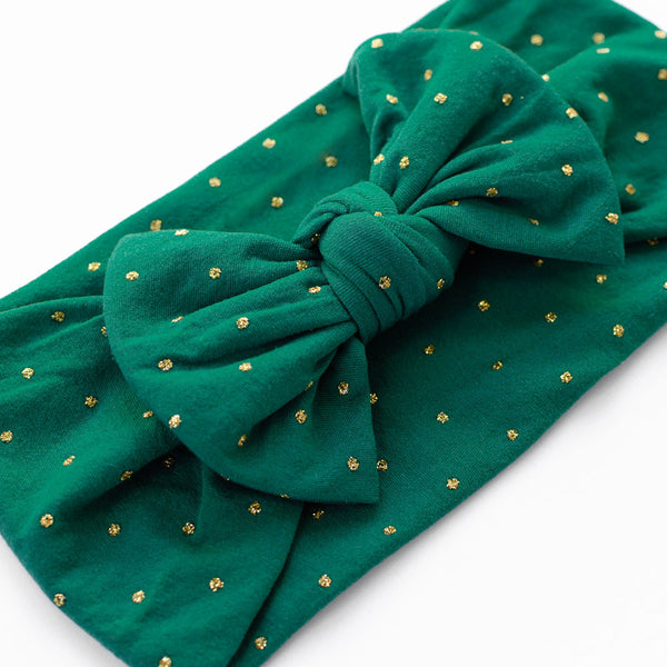 Christmas Bow Headband - Eve - Baby Girl Nylon