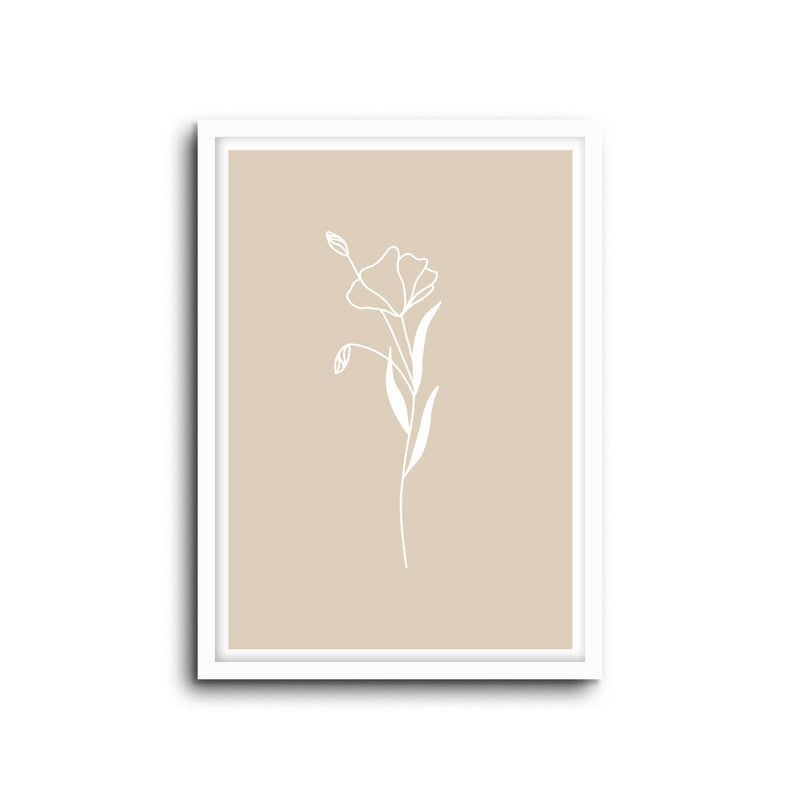 Minimal Botanical Collection - Style 10 Wall Print Art Decor for home living, lounge and modern line art nature inspired