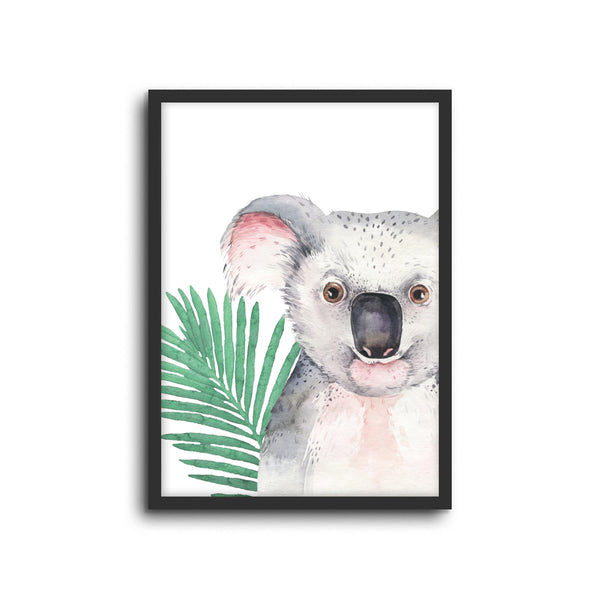 Koala Wall Print Baby Kids bed Room Nursery Art Playroom decor