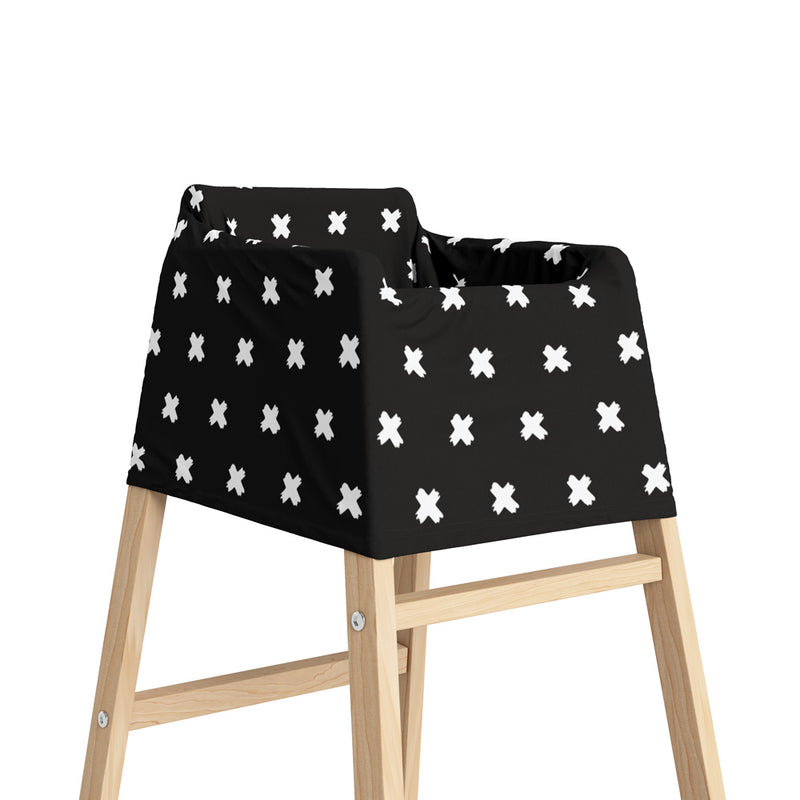5 in 1 Multi Use Cover - Xeno Black - Capsule Cover, Highchair Cover, Shopping Trolley Cover, Breastfeeding Cover, Nursing Scarf