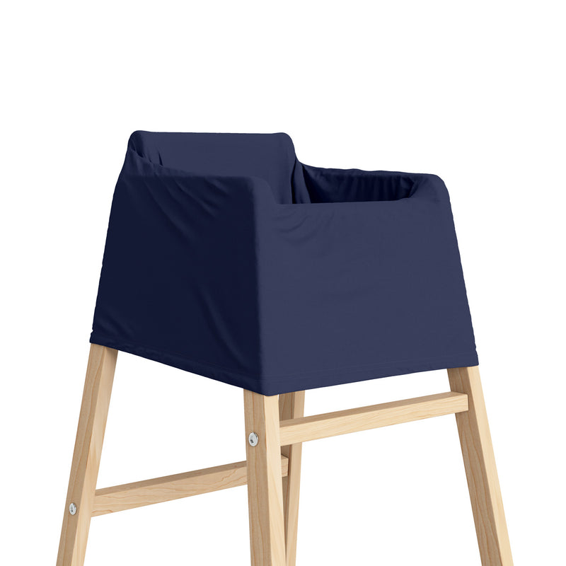 5 in 1 Multi Use Cover - Navy Blue - Capsule Cover, Highchair Cover, Shopping Trolley Cover, Breastfeeding Cover, Nursing Scarf