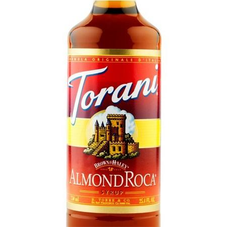 Torani Butter Pecan Syrup 750 mL Bottle