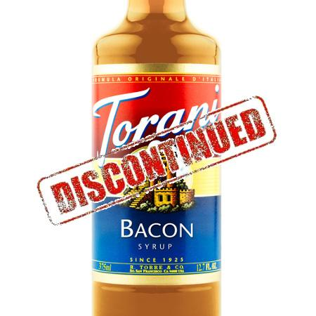 Torani Bacon Syrup 375 mL