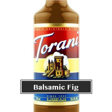Torani Balsamic Fig Syrup 750 mL Bottle