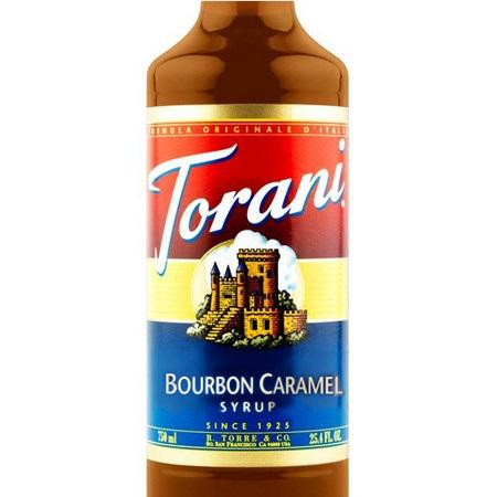 Torani Vanilla Bean Syrup 750 mL Bottle