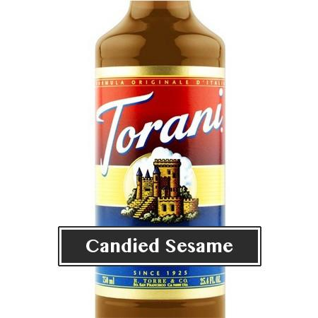 Torani Candied Sesame Syrup 750 mL Bottle