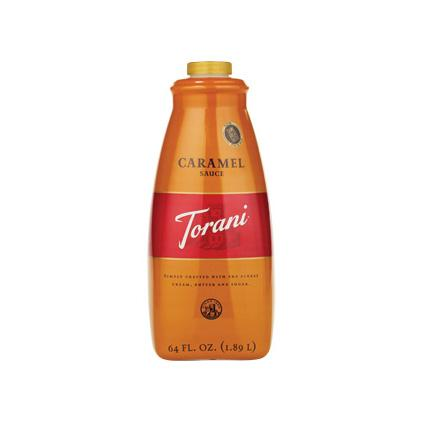 Torani Sugar Free Almond Roca Syrup 750 mL Bottle
